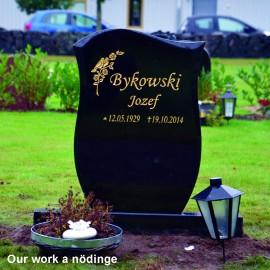 Gravsten PG 15 (   gravsten på nödinge kyrkogården )